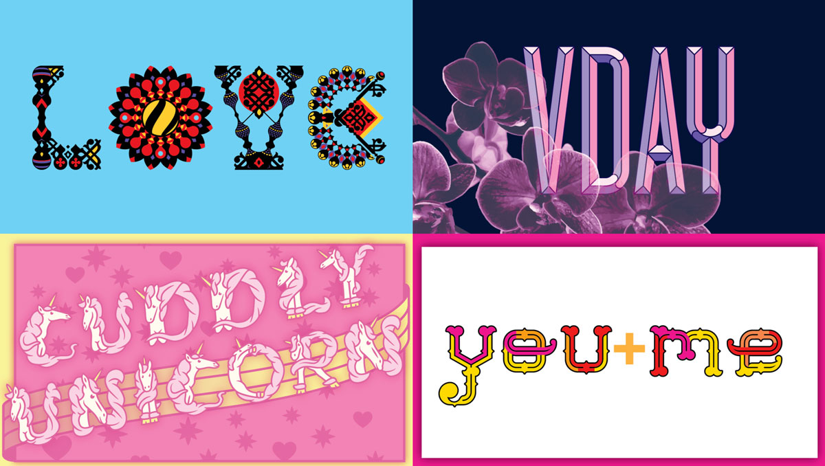 VDay Fonts