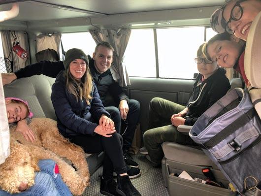 Van crew